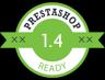 Wspiera Prestashop w wersji 1.4
